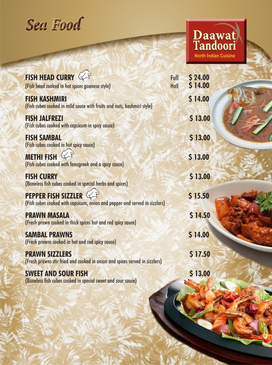 5 Sea Food